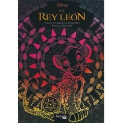El Rey León. 12 dibujos mágicos antiestrés rasca y descubre