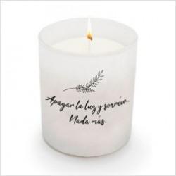 """Espelma perfumada """"Apagar la luz"""""""