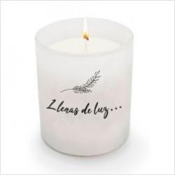 """Espelma perfumada """"LLenas de luz"""""""
