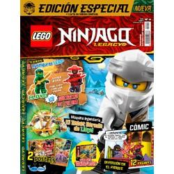 Revista LEGO Ninjago Legacy