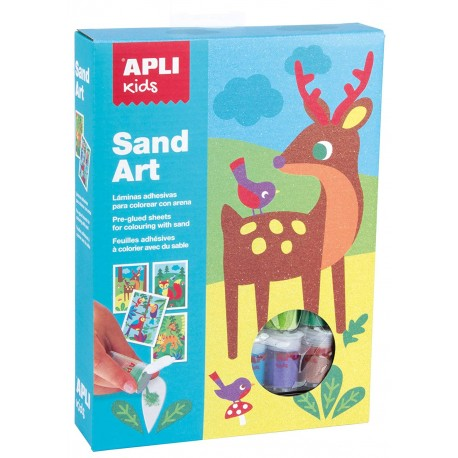 Sand Art - Animales