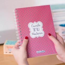 """Llibreta A5 """"Escribe tu historia"""""""